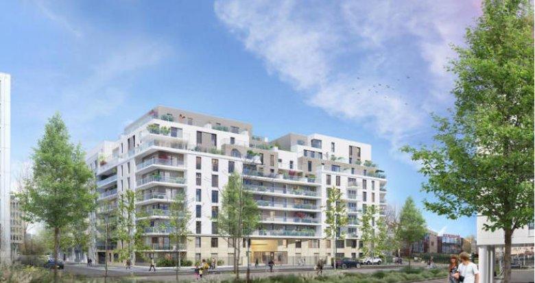 Achat / Vente appartement neuf Reuil-Malmaison à 10 minutes à pied du RER A (92500) - Réf. 4255
