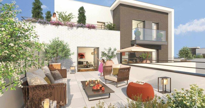 appartement neuf rueil malmaison 600 m tres du golf. Black Bedroom Furniture Sets. Home Design Ideas