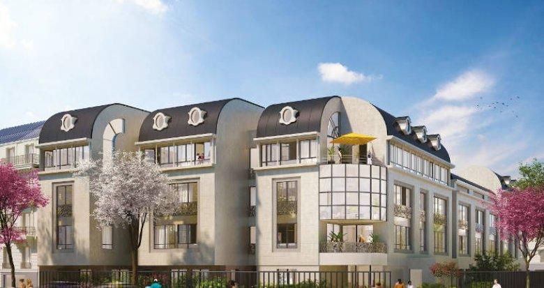 Achat / Vente appartement neuf Rueil-Malmaison à deux pas des transports (92500) - Réf. 4371