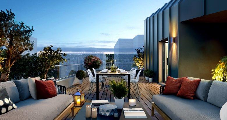 Achat / Vente appartement neuf Rueil-Malmaison écoquartier de l'Arsenal (92500) - Réf. 1281