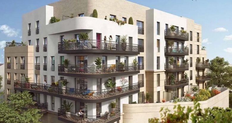 Achat / Vente appartement neuf Rueil-Malmaison proche métro 15 (92500) - Réf. 4981
