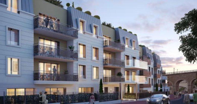 Achat / Vente appartement neuf Saint-Cloud proche stade des Coteaux (92210) - Réf. 2788
