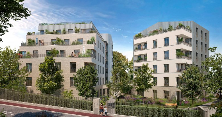 Achat / Vente appartement neuf Sceaux proche gare RER (92330) - Réf. 6111