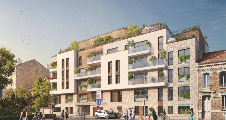 Achat / Vente appartement neuf Vanves coeur quartier Lycée Michelet (92170) - Réf. 6253