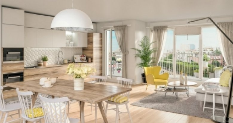 Achat / Vente appartement neuf Vanves proche Gare Malakoff (92170) - Réf. 2635