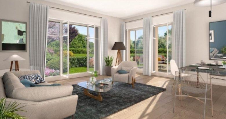 Achat / Vente appartement neuf Ville-d'Avray proche domaine Saint-Cloud (92410) - Réf. 3135